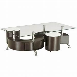 Table Basse Pouf Intégré : table basse s avec pouf ~ Dallasstarsshop.com Idées de Décoration