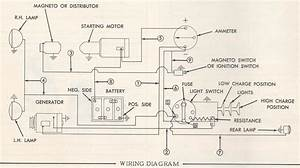 Allis B Electrical Schematic
