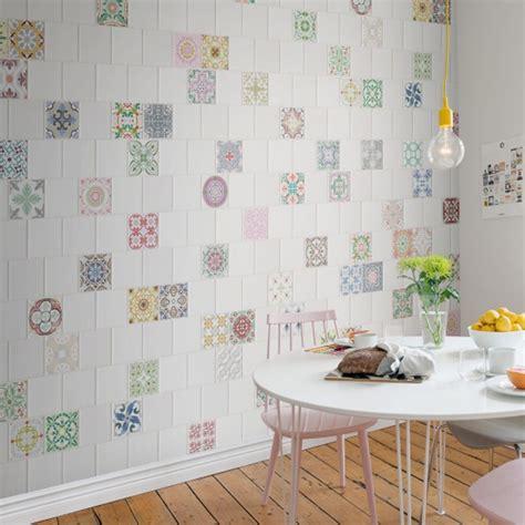 papier peint cuisine original frontage de rebel walls trompe l œil et effets de