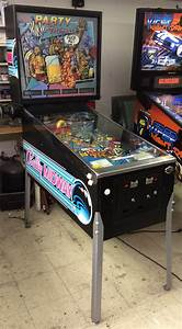 Party Animal Pinball Machine Game For Sale By Bally - Let U0026 39 S Party