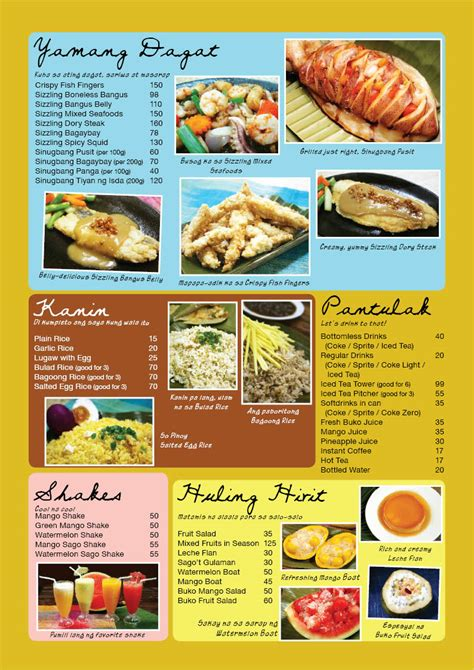 menu cuisine menu search philippines menu food and food