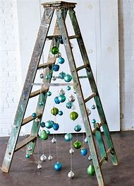 christmas tree ladder - Christmas Tree Ladder Decoration