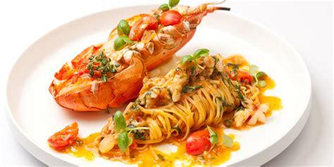 lobster tagliatelle recipe great british chefs
