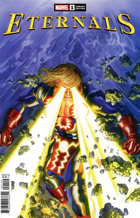 Eternals Vol 5 #1 Cover H Variant Alex Ross Cover