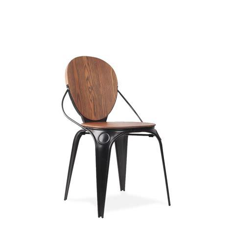 chaise metal vintage chaises vintage métal louixx the déco