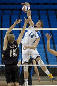 UCLA men's volleyball struggles offensively in 3-1 loss to ...