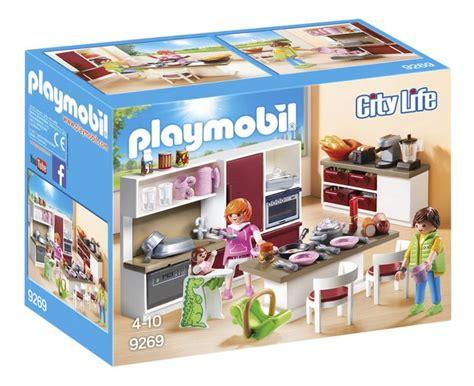 cuisine playmobile playmobil city 9269 cuisine am 233 nag 233 e dreamland