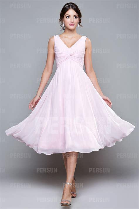 robe pour mariage chetre robe courte empire pour mariage d 233 collet 233 e en v
