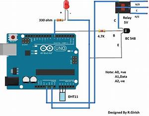 Automatic Temperature Regulator Circuit Using Arduino