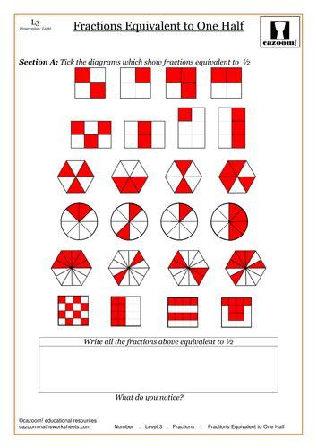 equivalent fractions noah and darcey ks1 2 fractions teaching fractions equivalent fractions