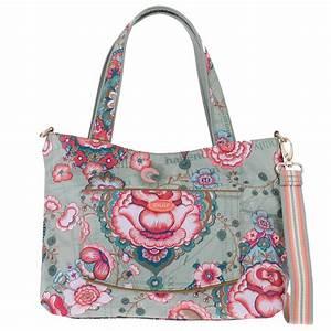 Taschen Zwei Reduziert : oilily handtasche handbag s tote reversible fantasy flora ~ Buech-reservation.com Haus und Dekorationen