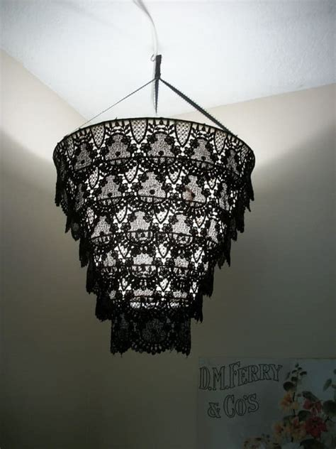 interesting    chandelier  lampshade