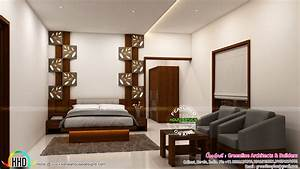 Interior designs of Master bedroom - Kerala home design ...