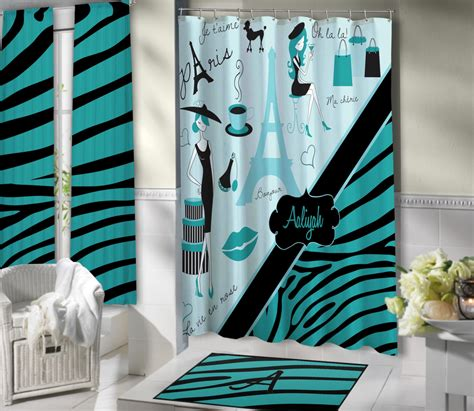 blue zebra print bathroom accessories bathrrom