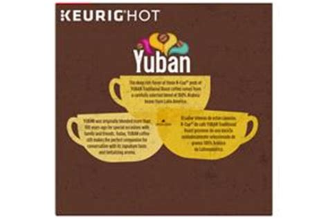 Yuban Gold Original Coffee K Cup® Packs 18 ct Box   Kraft Recipes