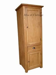 Meuble Colonne Cuisine : meuble de cuisine en bois massif ~ Teatrodelosmanantiales.com Idées de Décoration