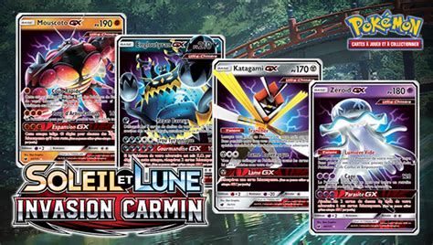 des cartes ultra chimeres gx du jcc pokemon