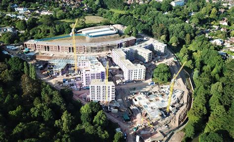 project update east park exeter phase  valcan