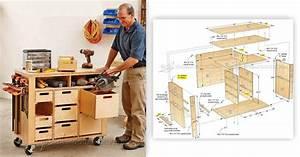 #2622 Tool Cabinet Plans • WoodArchivist