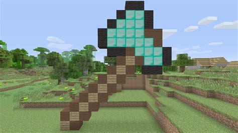 Diamond Axe Pixel Art