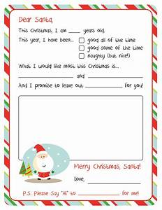 letter to santa free printable printable letters free With downloadable santa letters