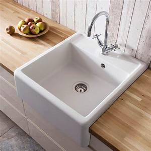 Crosswater Cucina Belgravia Semi Inset Belfast Kitchen Sink KS BL5963CW at Victorian Plumbing UK