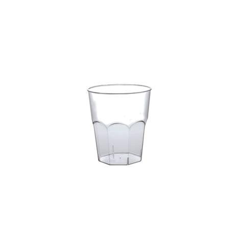 Bicchieri Plastica Trasparente by Bicchieri Plastica Monouso 50 Cc Eurofides