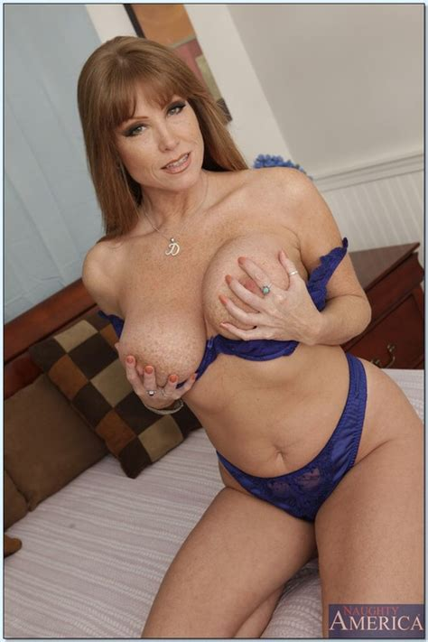 Beautiful Busty Woman In A Hot Striptease Photos Darla Crane MILF Fox