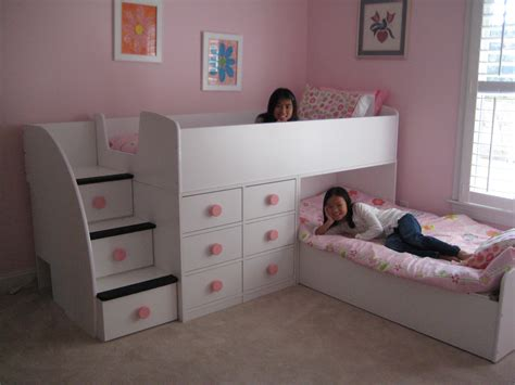 Diy Bedroom Decorating Ideas On A Budget - contemporary children twin beds with storage homesfeed