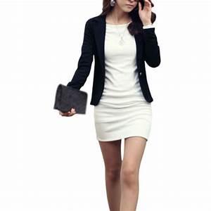 Blazer Femme Noir : blazer moulant pas cher veste tailleur pour femme ~ Preciouscoupons.com Idées de Décoration