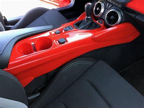 camaro center console side panels