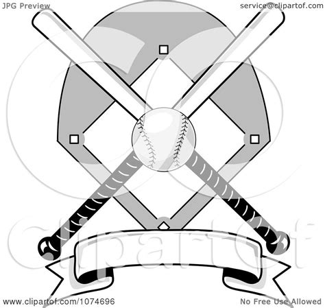 Use this pennant flag post basketball icon svg for crafts or y. Clipart Baseball Bat Banner Field And Ball Logo 2 ...