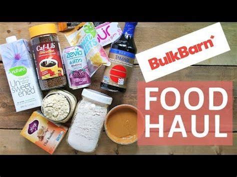 Bulk Barn Nutrition by Healthy Grocery Haul Bulk Barn