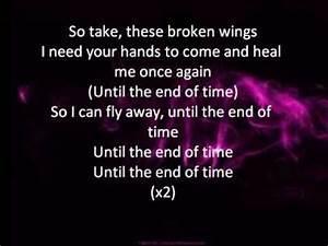 Broken Wings Ly... Broken Lyrics