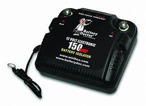 Gs Power 150 Amp Dual Auxiliary Battery Charge Isolator