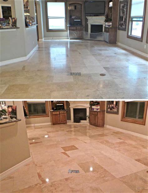 Houston Travertine Sealing   Bizaillion Floors