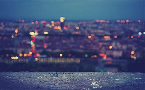 Verschwommene Lichter Der Großstadt Hintergrundbilder