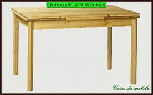 Tisch 80 X 120 Ausziehbar : esstisch e tisch esszimmer k chen tisch 120x80 ausziehbar holz kiefer massiv ebay ~ Bigdaddyawards.com Haus und Dekorationen