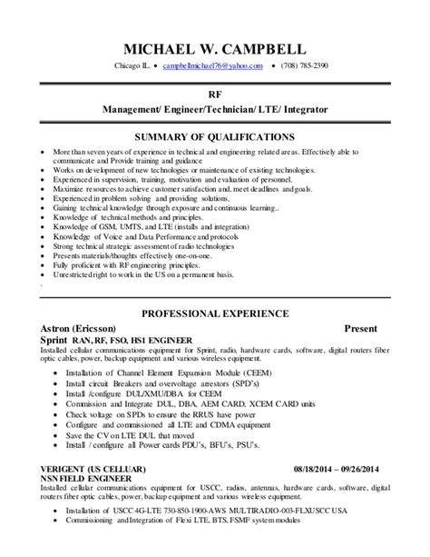 wireless rf engineer resume cdma engineer resume persepolisthesis web fc2