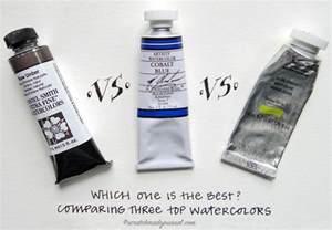 Best Watercolor Paint Brands