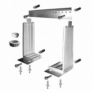 MUSTEE Wall Mounting Hardware For 18W19W 18200W The