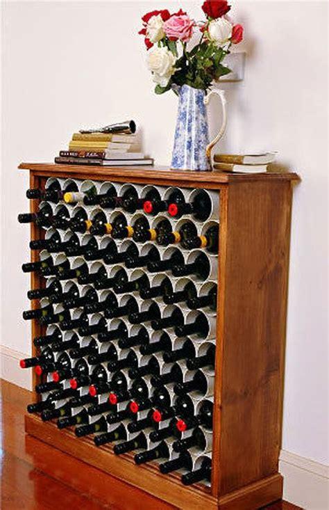 pvc pipe  convert  dresser   wine rack