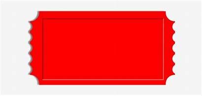 Ticket Raffle Blank Outline Clipart Clip Stub