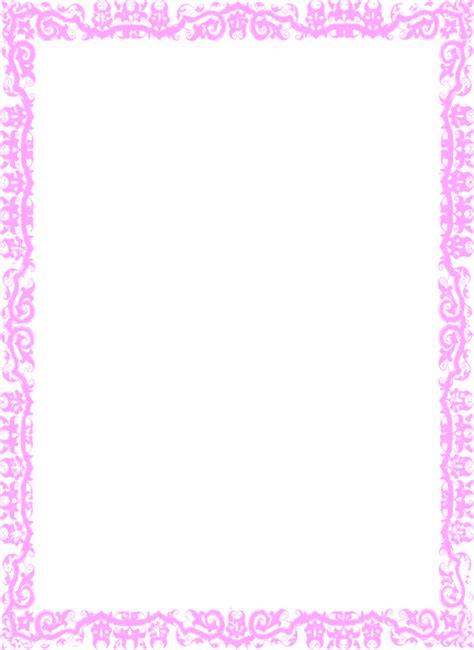Borderpink Clip Art At Clkercom  Vector Clip Art Online