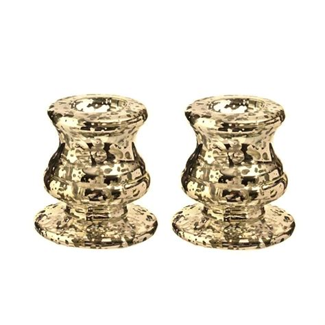 raz imports 36096 2 5 quot mercury taper candle holder 2