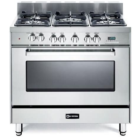 verona oven dual fuel range reviews wayfair