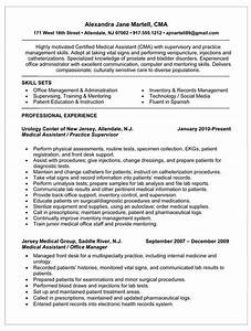 Resume examples templates professional medical assistant for Certified medical assistant resume