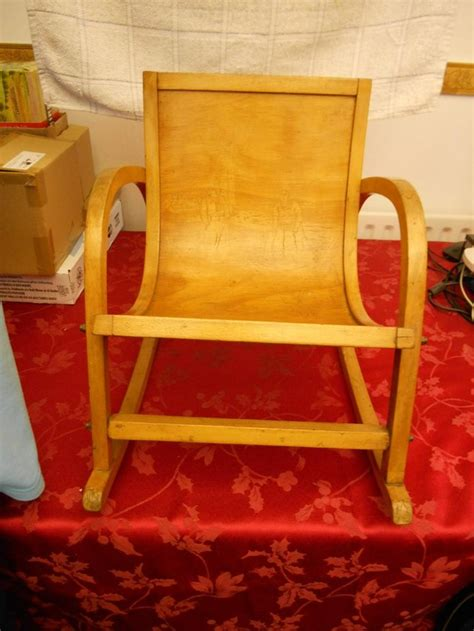 antique vintage child s rocking chair for sale in crewe