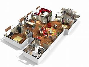plan d39appartement 3d gratuit With plan appartement 3d gratuit