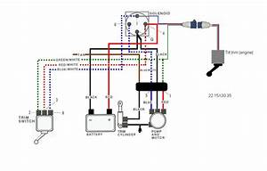 Marine Trim Motor 3 Wire Hook Up Diagram